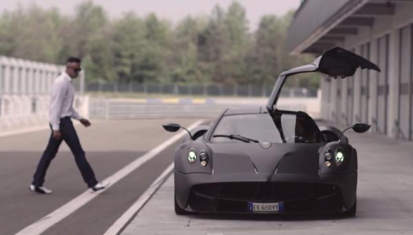 DRIVE Interviews Pagani Test Driver Davide Testi