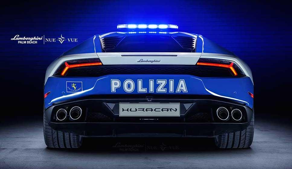 Lamborghini Huracan Police Car Hits Palm Beach