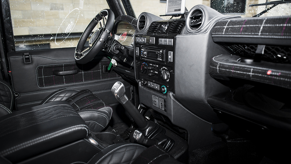 The Variety: Kahn Land Rover Defender SVX