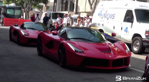 laferrari du 600x331 at 2x LaFerrari Spotted in Beverly Hills