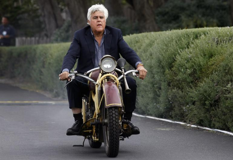 Jay Leno's Garage Comes to TV on CNBC