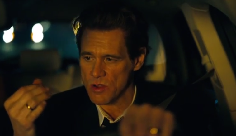 lincoln Carrey at Jim Carrey Spoofs Matthew McConaughey's Lincoln Ads