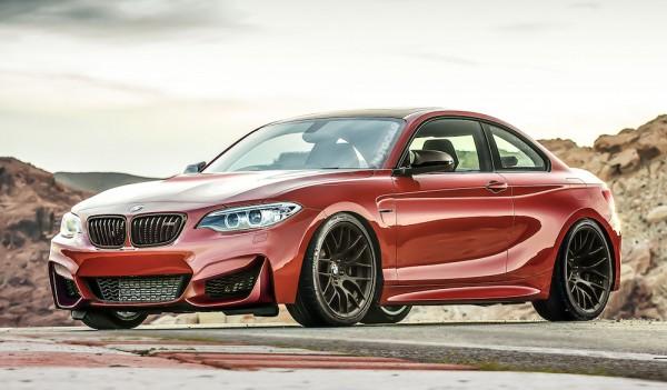 m2 render 1 600x351 at 400bhp BMW M2 Previewed in Superb Renderings