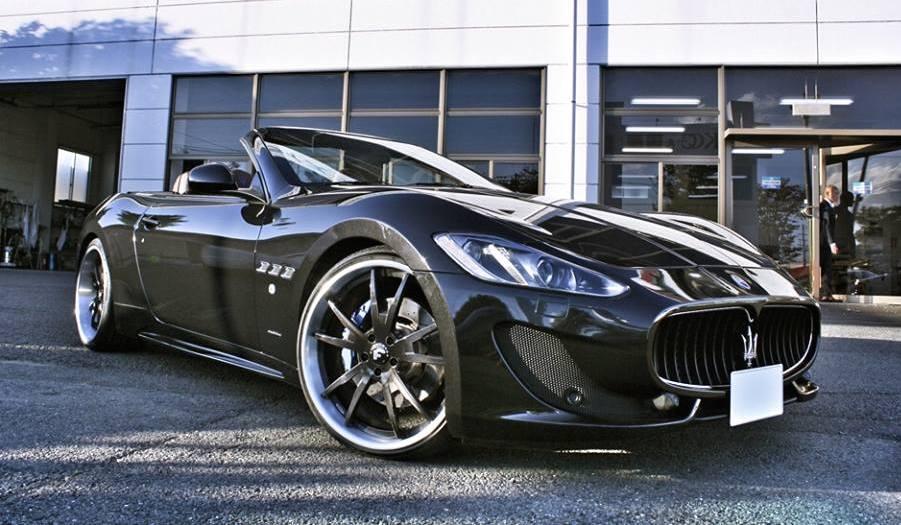 Maserati Grancabrio On Forgiato Wheels