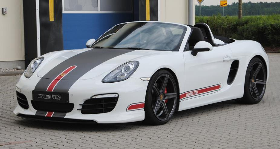 Custom Porsche Boxster 981 By Mbdesign