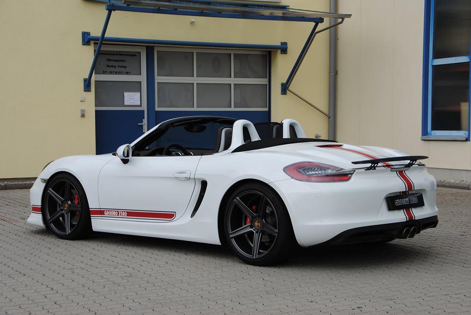 Porsche Boxster на дисках KV1 от mbDESIGN