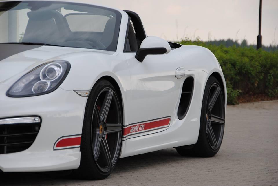 Porsche Boxster в фирменных наклейках от mbDESIGN
