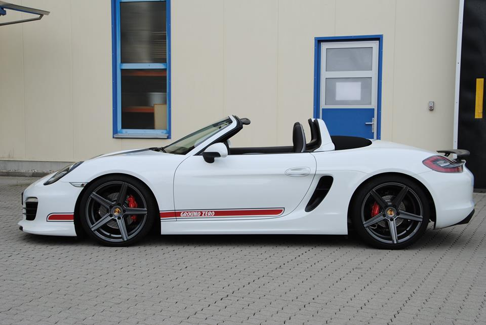 Тюнинг Porsche Boxster от mbDESIGN