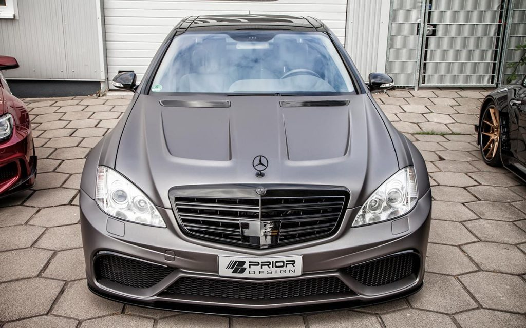 Prior design mercedes s class w221 wide body for Mercedes benz w221 price