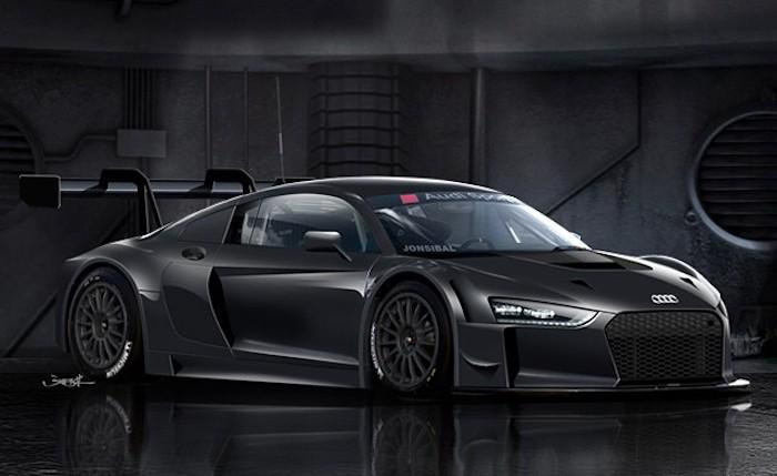 Фото | Новая Audi R8 GT3, неофициально