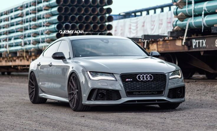 another gorgeous audi rs7 on adv1 wheels. Black Bedroom Furniture Sets. Home Design Ideas