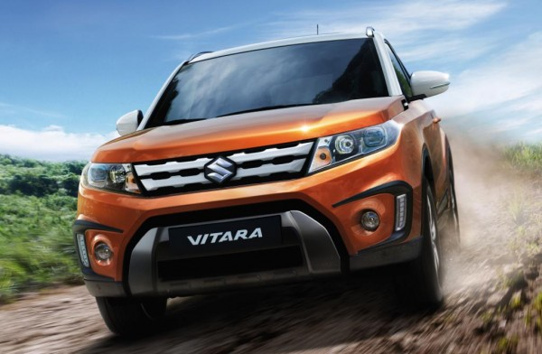 suzuki vitara 0 600x392 at 2015 Suzuki Vitara Unveiled in Paris