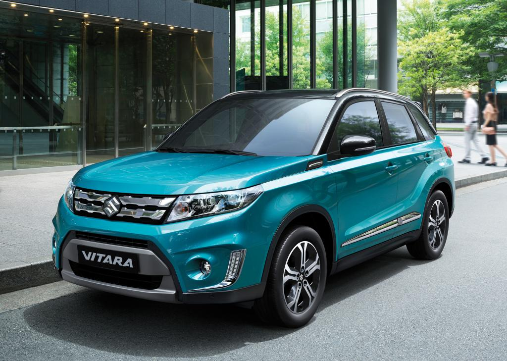2015 suzuki vitara unveiled in paris. Black Bedroom Furniture Sets. Home Design Ideas