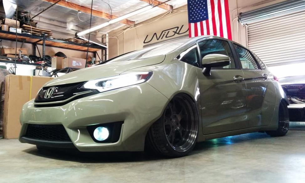 Tjin Fit 1 600x360 At SEMA Preview Edition Honda Wide Body