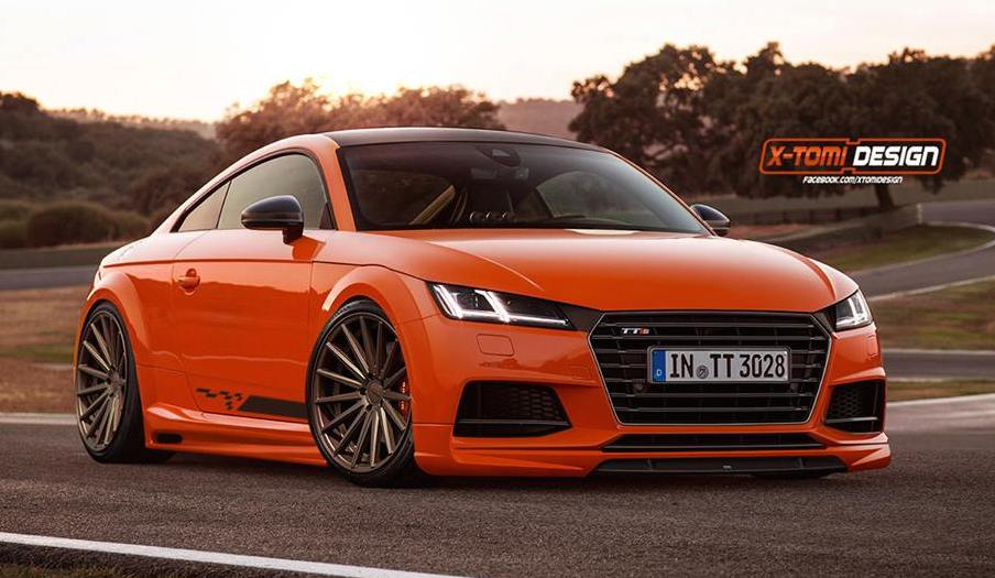 2015 audi tts gets virtually tuned. Black Bedroom Furniture Sets. Home Design Ideas