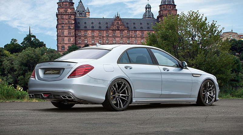 Voltage Design Mercedes S65 AMG with 720 hp