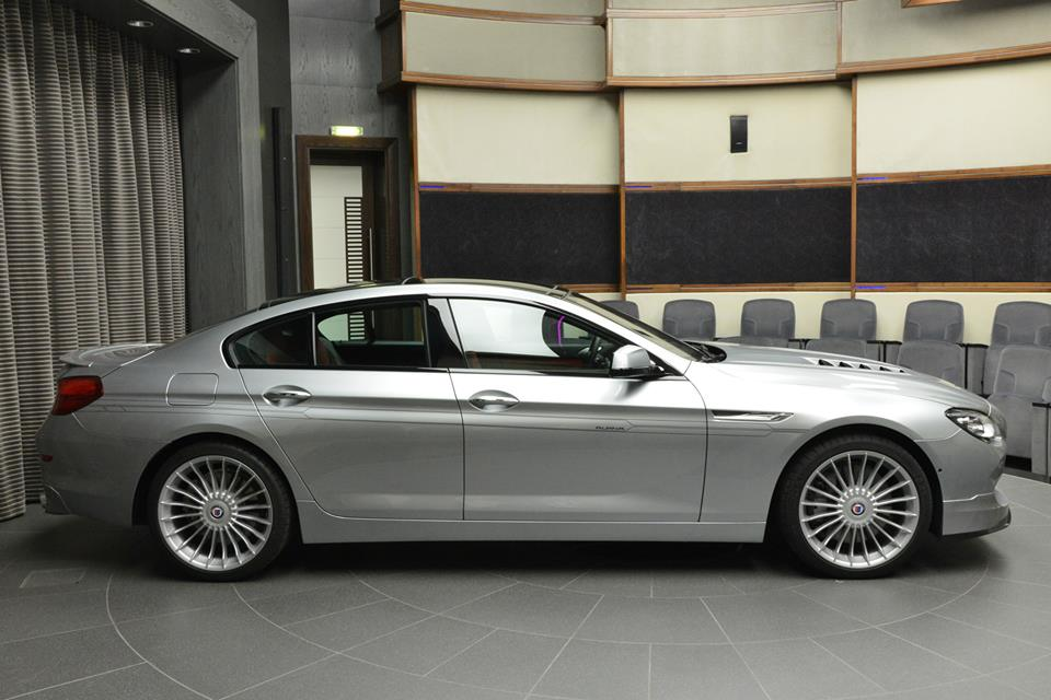 Alpina B6 Gran Coupe At Bmw Abu Dhabi