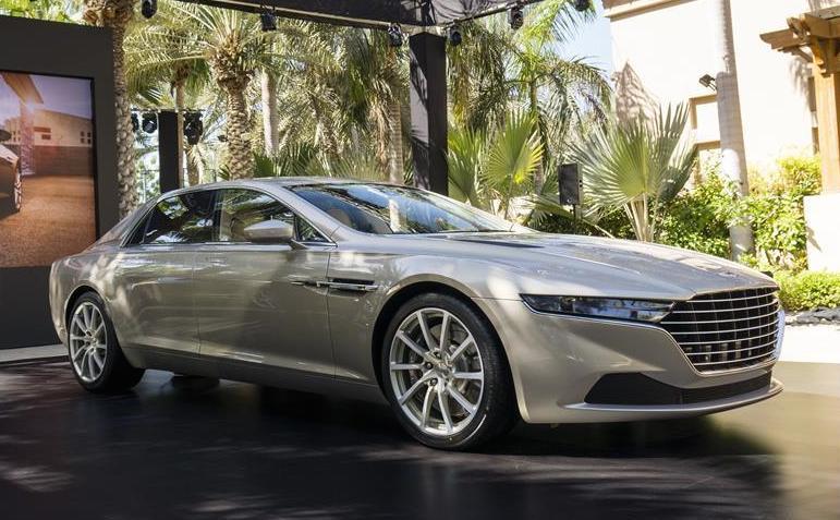 Official Aston Martin Lagonda Taraf