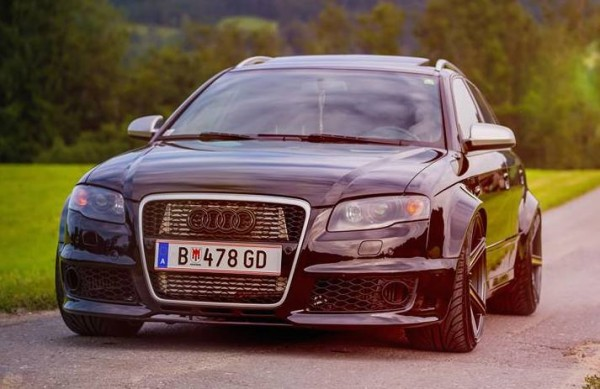 Audi A4 Diesel 0 600x389 at This RS4 Look Audi A4 Diesel Is Super Sick!