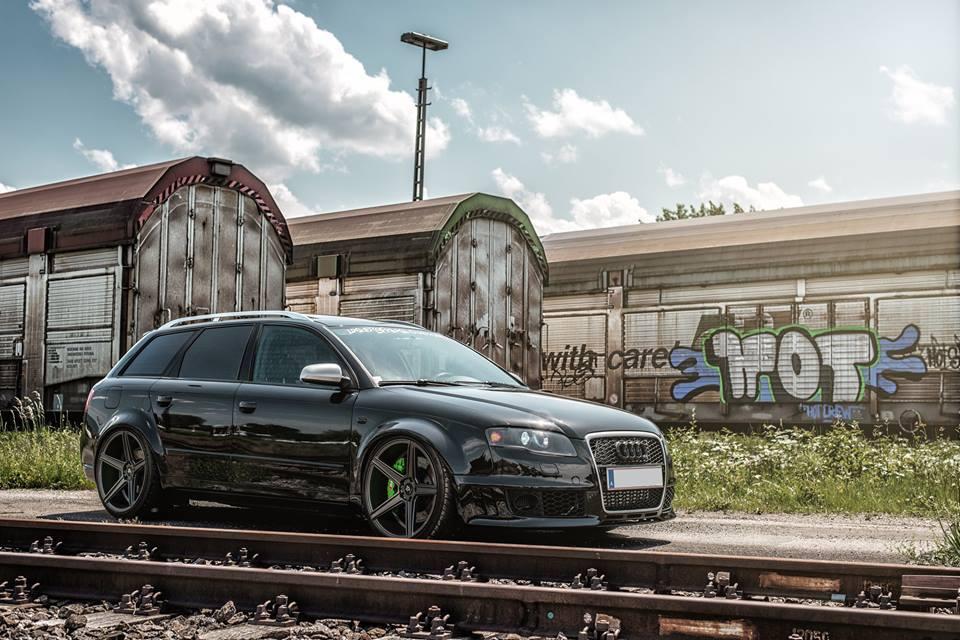 This Rs4 Look Audi A4 Diesel Is Super Sick