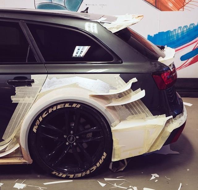 Jon Olsson Preparing Audi Rs6 Dtm
