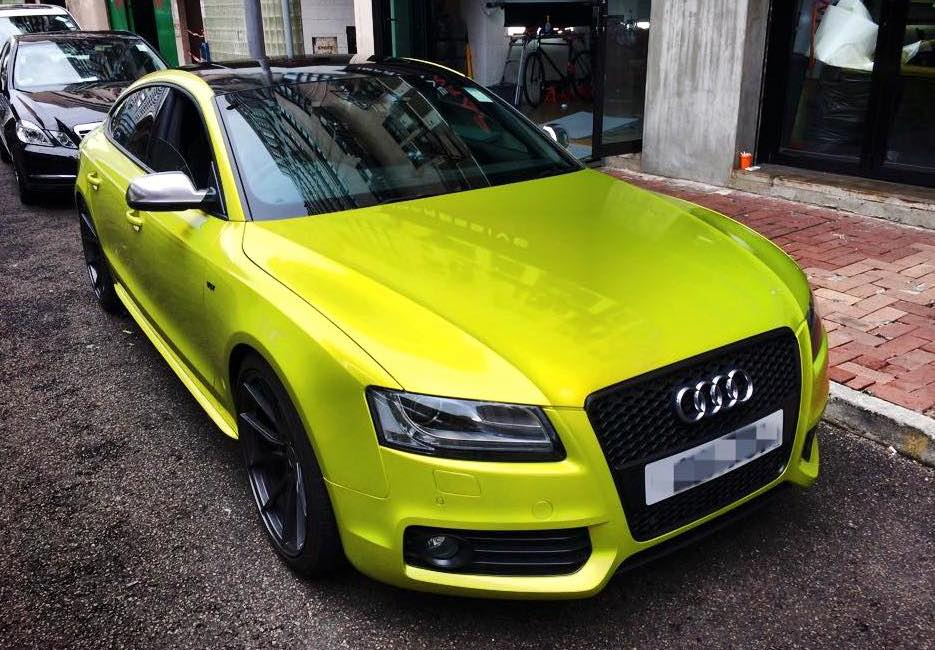 Image Result For Audi A Sportback Yellow