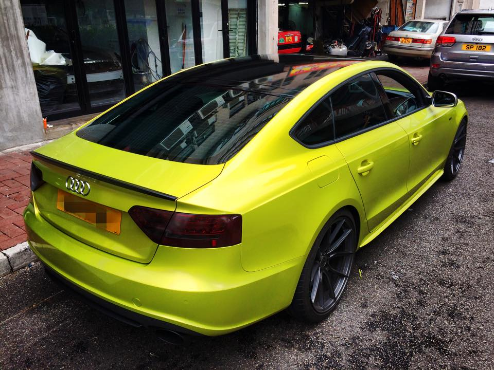 Тонированная Ауди S5 Sportback от Impressive Wrap