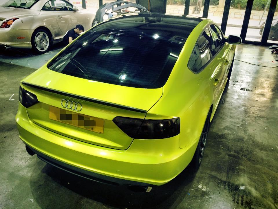 Audi S5 Sportback с тонированной крышей