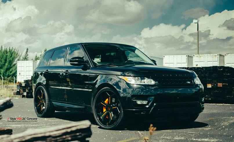 BlackedOut Range Rover Sport by MC Customs  Motorward
