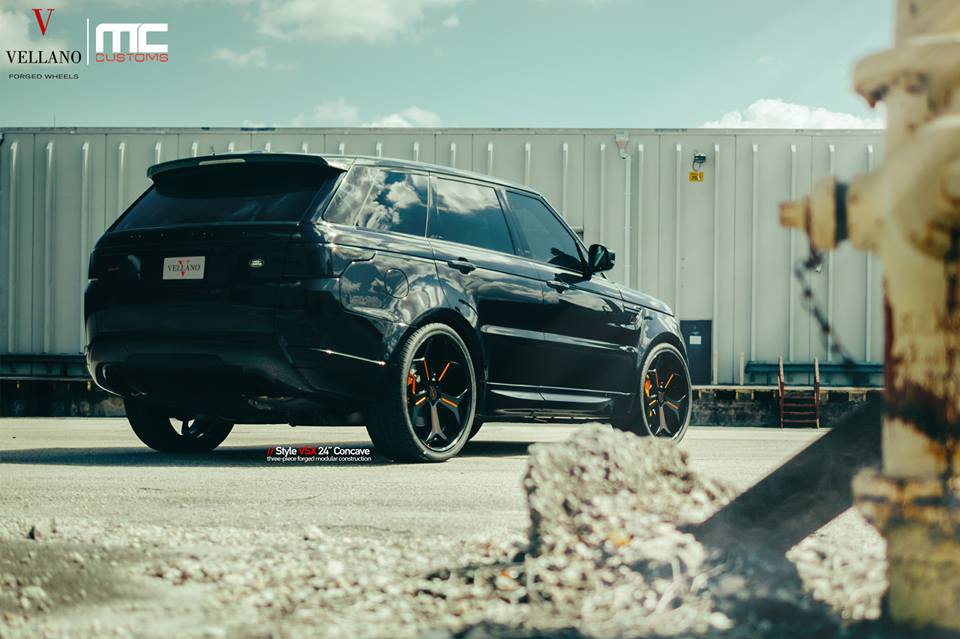 BlackedOut Range Rover Sport by MC Customs  Motorward