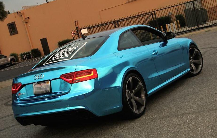 Audi Rs5 2014 Coupe Blue Blue Chrome Audi Rs5 0 600x381