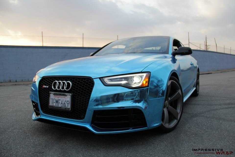 Audi Rs5 2014 Coupe Blue Blue Chrome Audi Rs5 1 175x175