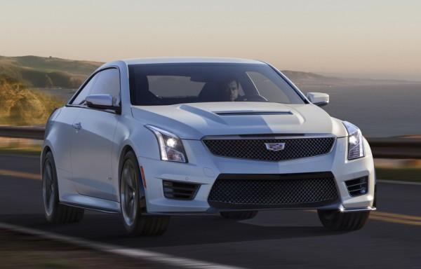 Official: Cadillac ATS-V Coupe & Sedan