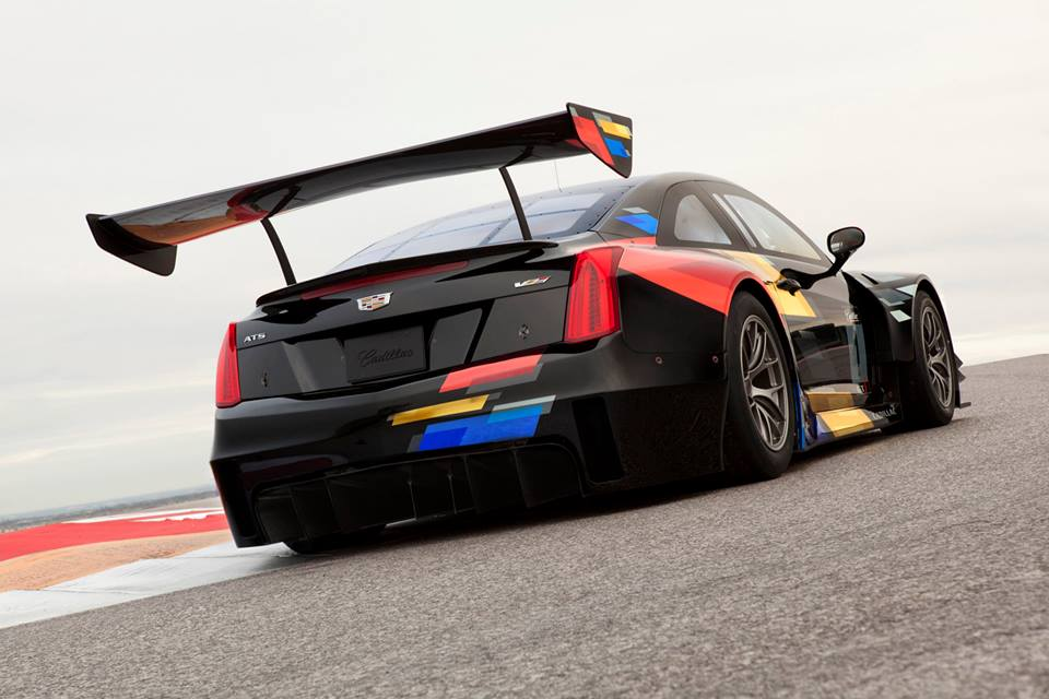 Official cadillac ats vr race car for Troy motor mall cadillac