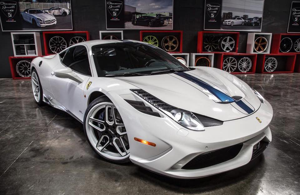 Ferrari 458 Speciale On Gfg Wheels