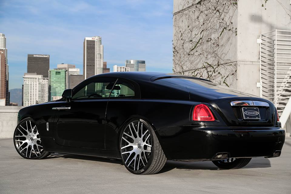 Tuningcars forgiato wheels for rolls royce wraith and ghost