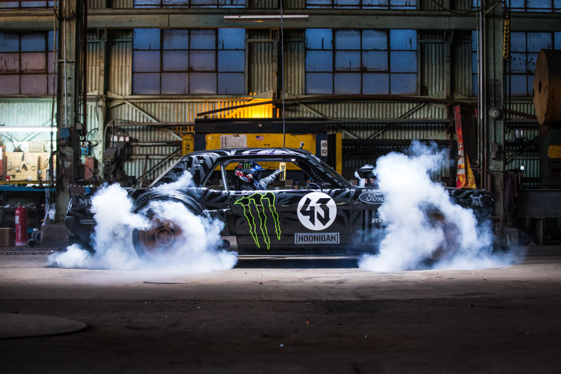 Gymkhana 7 Released 850 Hp Mustang In L A
