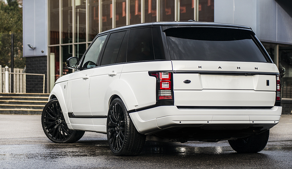 Kahn Range Rover Performance Edition In Fuji White