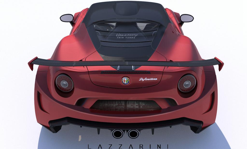 lazzarini alfa romeo 4c definitiva with 740hp. Black Bedroom Furniture Sets. Home Design Ideas