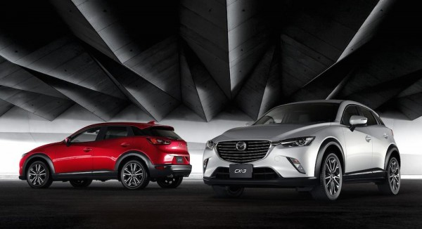 Mazda CX-3 Crossover Unveiled in L.A.