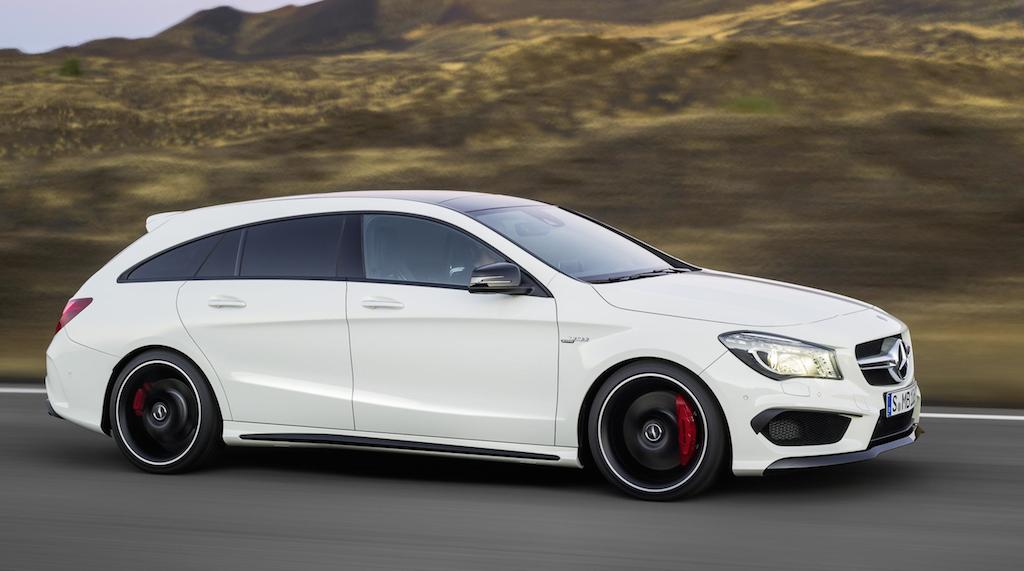 Mercedes CLA Shooting Brake AMG Wallpaper