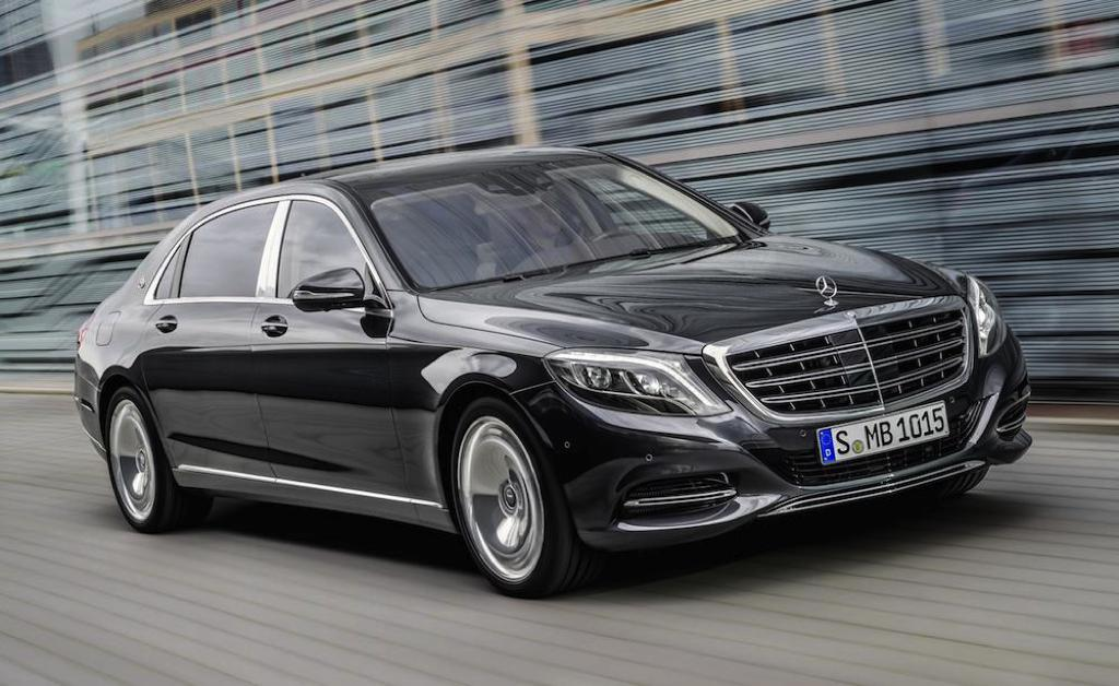 Mercedes-Maybach S-Cl Officially Unveiled on