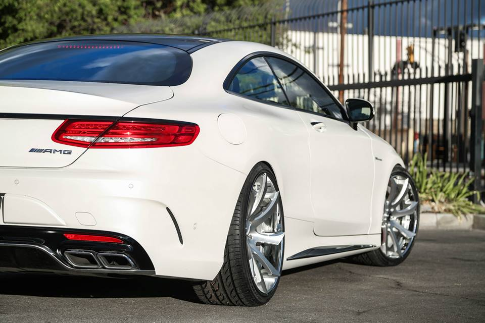 Tuningcars mercedes s63 amg coupe on forgiatos for Best looking mercedes benz models