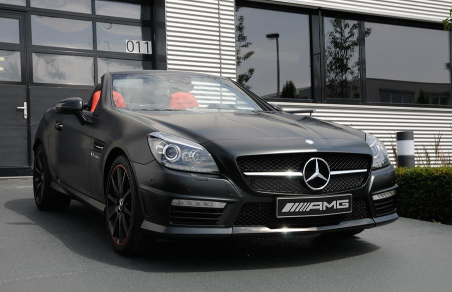 tuningcars mercedes slk 55 amg performance studio edition. Black Bedroom Furniture Sets. Home Design Ideas