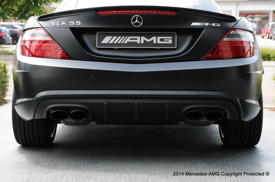 Tuningcars mercedes slk 55 amg performance studio edition for Mercedes benz slk 55 amg special edition