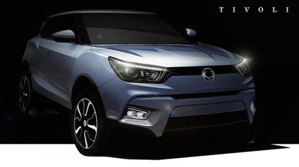 SsangYong Tivoli 1 600x336 at SsangYong Tivoli Announced, Launches Next Year