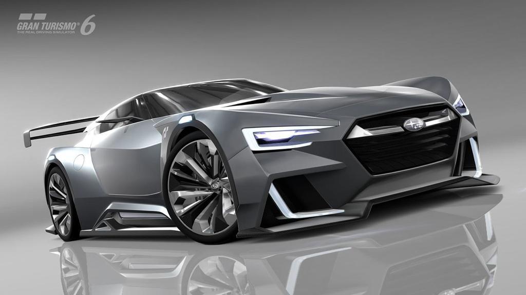 Subaru Viziv Gran Turismo Concept Revealed