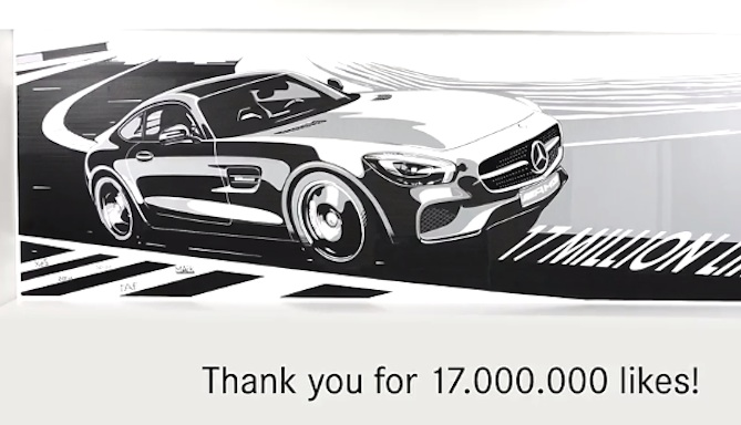 Amg Gt Tape Drawing Marks Facebook Milestone