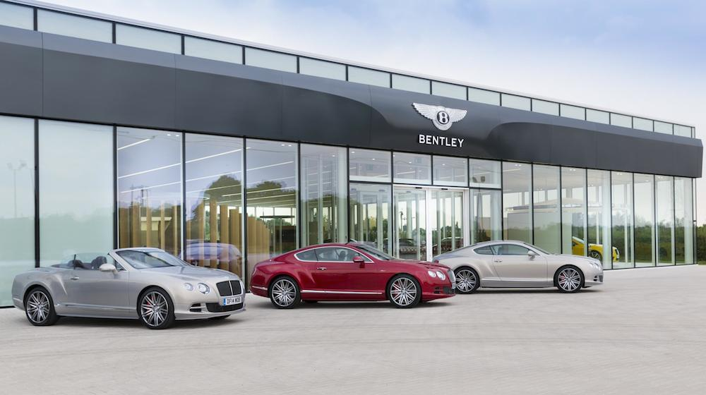 Bentley Cw1 House Opens In Crewe