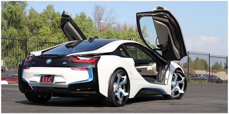 The World S First Bmw I8 On Forgiato Wheels